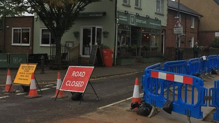 Catherine Street, St Albans, closure for works to be carried out is causing frustration to residents