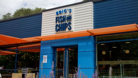 Eric's Fish and Chips in St Ives. Picture: CONTRIBUTED