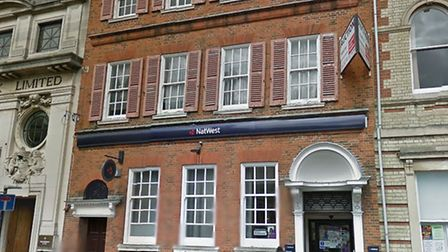 The St Ives branch of NatWest bank. Picture: GOOGLE