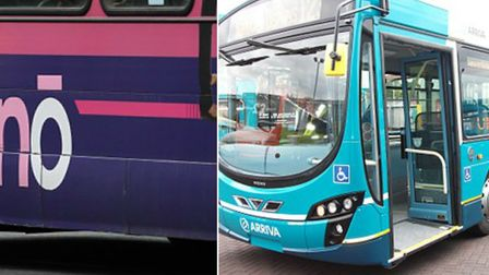 Shoul buses in Hertfordshire have bike racks fixed to them? Pictures: Supplied.