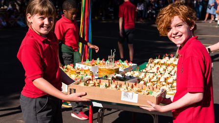 Maple School's 50th birthday party. Picture: Mike Feather