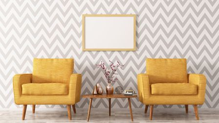 Hanging wallpaper may not be as hard as you think. Picture: iStock/PA