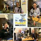 Guests on the October 2 edition of The St Albans Podcast.