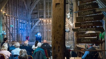 Hannah McDowall remembers King Arthur at the Medieval Daze festival at St Michael's Church, St Alban