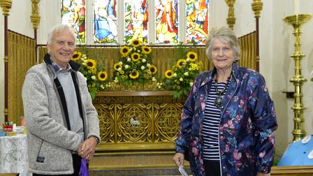 A flower festival was held at St Neots Parish Church. Picture: DUNCAN LAMONT