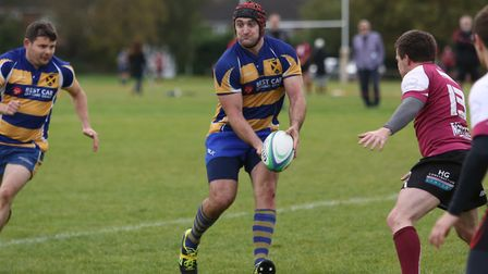 Fraser Morris was among the scorers again for St Albans against Thamesians. Picture: DANNY LOO