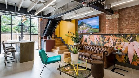 Who wouldn't want to work somewhere as lovely as BubbleHUB? Picture: Franklin & Franklin