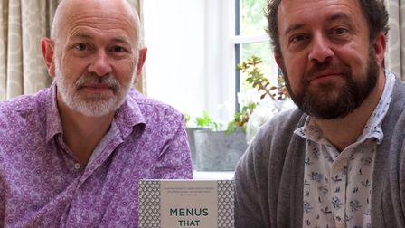 Vince Franklin and Alex Johnson have collaborated on a new book, Menus That Made History.