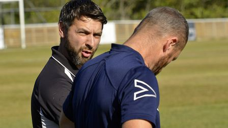 Manager Ricky Marheineke is delighted with St Ives Town's recent rise. Picture: DUNCAN LAMONT