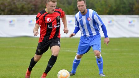 Adam Richardson has joined Wisbech St Mary from Huntingdon Town. Picture: DUNCAN LAMONT