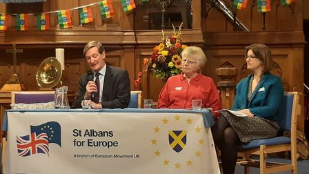 MP Dominic Grieve gave his views about Boris' Brexit plans on Thursday. Picture: St Albans For Euro