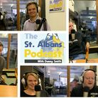 The guests on this week's edition of the St Albans Podcast.