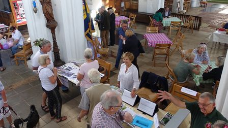 The first Clubs and Societies Fair at Thaxted Parish Church. Picture: CONTRIBUTES