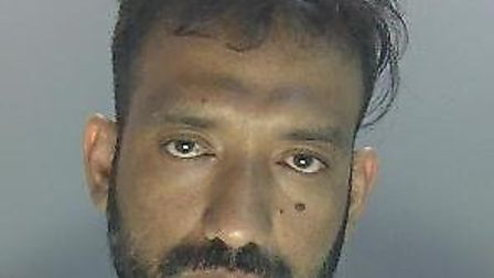 36-year-old Mohammad Ahmed was sentenced at St Albans Crown Court on Friday. Picture: Herts police