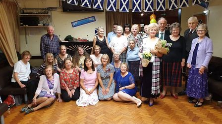 Dance teacher of 82, Kate Penny celebrated 50 years of teaching Scottish country dancing in Harpende