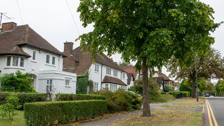 Housing in Letchworth Garden City. Picture: DANNY LOO