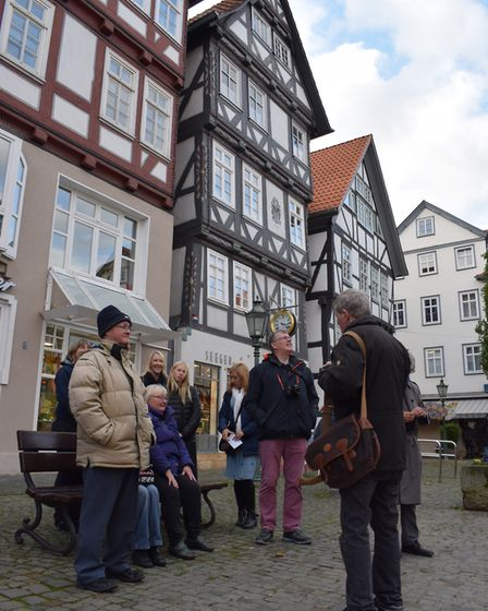 Town twinners' tour of Melsungen. Picture: Paul Brown