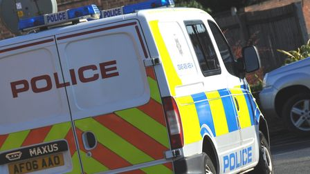 The police pursuit began on the A14 at Keyston