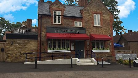 The new L'Italiana Shenley restaurant which opens on Friday, November 8