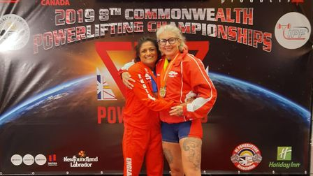 Ajanta Hilton from St Albans received a bronze medal at the Commonwealth Powerlifting Championshops.