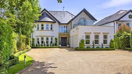 The property on The Ridgeway, Radlett, is on the market for £4.6m. Picture: Zoopla