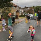 The Playing Out event in St Albans last summer. Picture: St Albans district council