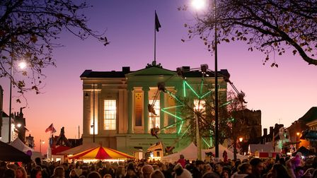 The St Albans Christmas Cracker Street Festival last year. Picture: St Albans district council