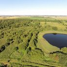 Woodwalton Fen captured from the air at Great Fen. Picture: CONTRIBUTED