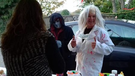 Royston Fire Station hosted a Halloween Trick or Treat event. Picture: Royston Fire Station