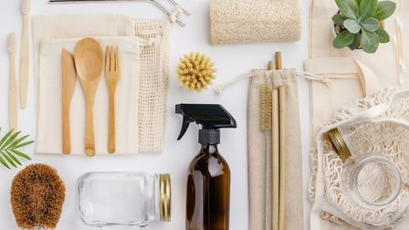 Going green: Some of the eco kit available to use around the home. Picture: PA Photo/iStock