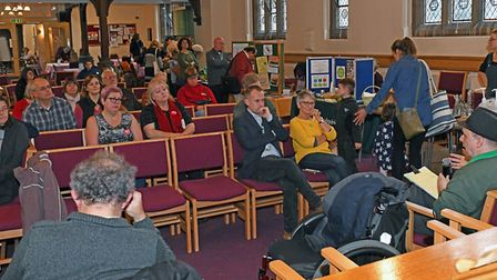 A green fair took place at the United Reform Church in St Neots. Picture: ARCHANT