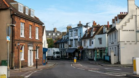 Parliament Square, Hertford. Picture: DANNY LOO
