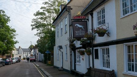 The White Horse, Hertford. Picture: DANNY LOO