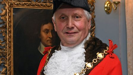 Councillor Steve McAdam, the mayor of Huntingdon. Picture: ARCHANT