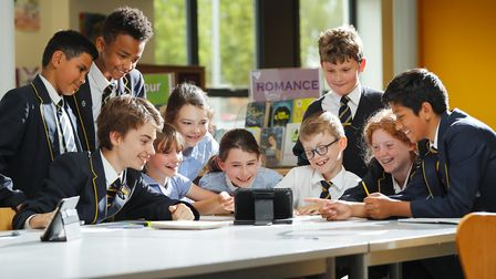 Samuel Ryder Academy in St Albans has been named an Apple Distinguished School. Picture: Samuel Ryde