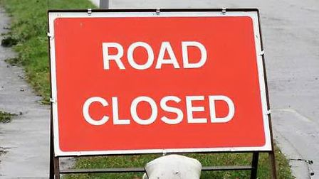 The A1081 London Colney bypass is closed following a crash between a car and a lorry. Picture: Archa