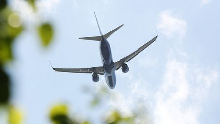 Stevenage residents are being troubled by low-flying planes departing from Luton Airport. Picture: D