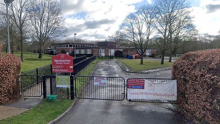 A supply teacher was asked to leave Newberries Primary School in Radlett for making a racist comment