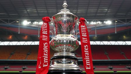 The FA Cup trophy. Picture: Nick Potts/PA