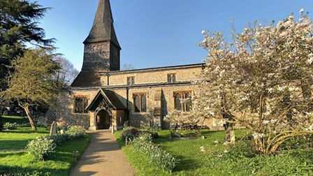 St Stephen's Church in St Albans - photo Google Street View.