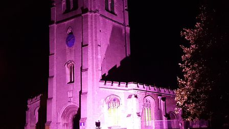 St Thomas a Becket Church will turn purple for World Polio Day. Picture: CONTRIBUTED