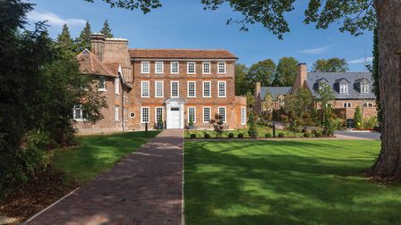 Not cheap: Harpenden's Welcombe House. Picture: Fairview New Homes