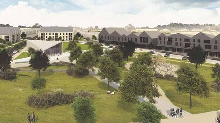 An artist's impression of how the new development could look. Picture: CONTRIBUTED
