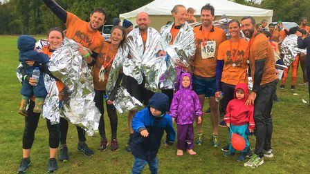 The Mud Pack Challenge 2019 raised funds for The Hospice of St Francis.Picture: The Hospice of St Fr
