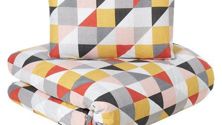 Geo Duvet Cover, from £10, George Home. Picture: George Home/Asda/PA