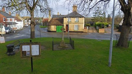The war memorial in Spaldwicj has been listed. Picture: GOOGLE