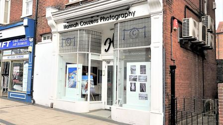 Romeland Interiors is replacing Hannah Couzens Photography on London Road. Picture: Aitchison Raffet