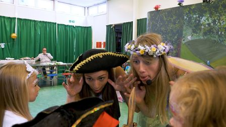 Over the Rainbow Parties is an eco-friendly children's party company launched in Royston. Picture:
