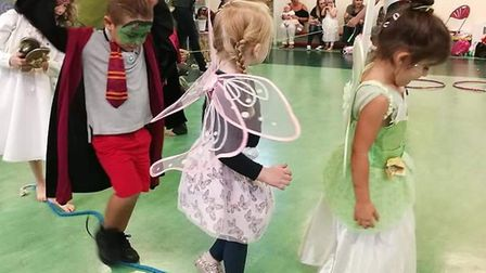 Over the Rainbow Parties is an eco-friendly children's party company launched in Royston. Picture: G