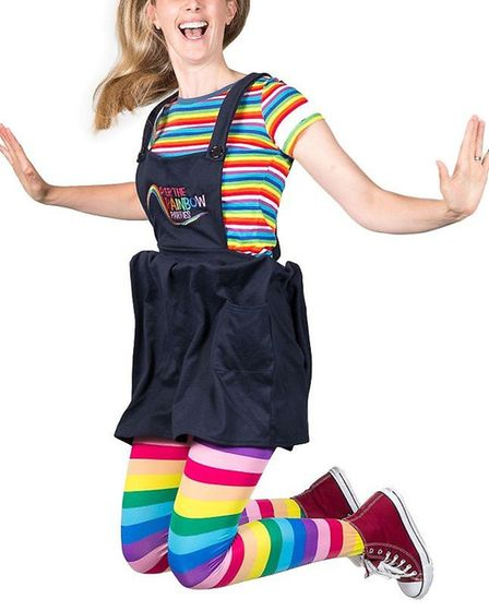 Over the Rainbow Parties is an eco-friendly children's party company launched in Royston. Picture: C